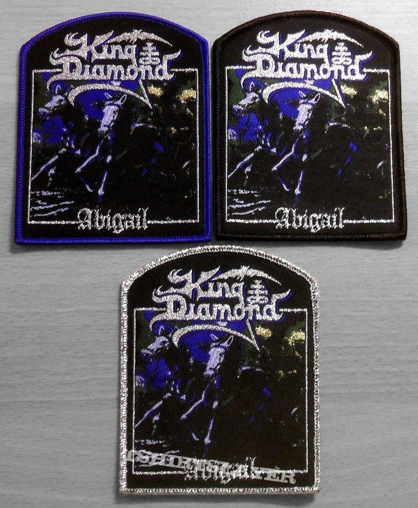 KING DIAMOND Abigail NEW Printed Small Patch